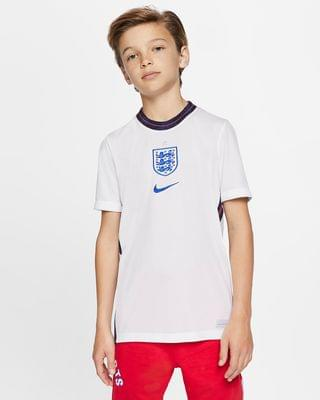 KIDS Big Kids' Soccer Jersey England 2020 Stadium Home