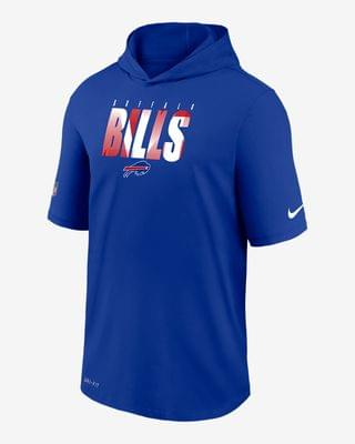 MEN Men's Short-Sleeve Training Hoodie Nike Dri-FIT (NFL Bills)