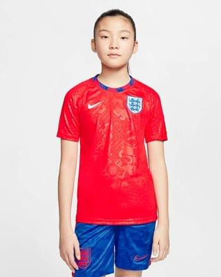KIDS Big Kids' Short-Sleeve Soccer Top England