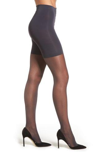 WOMEN Donna Karan The Signature Collection Sheer Satin Pantyhose