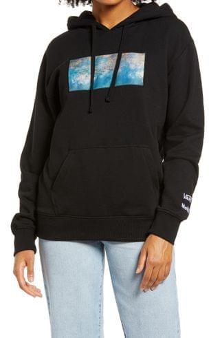 WOMEN Vans MoMA Claude Monet Graphic Hoodie
