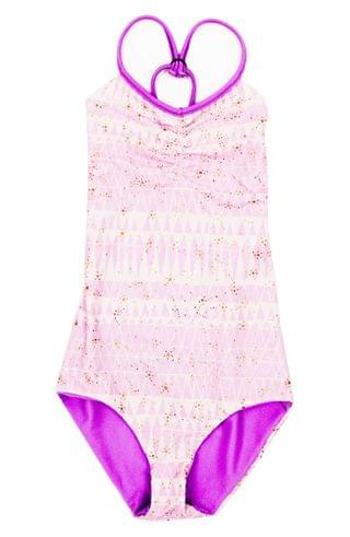 KIDSS BOWIE X JAMES Catalinakini One-Piece Reversible Swimsuit (Toddler Girls, Little Girls & Big Girls)