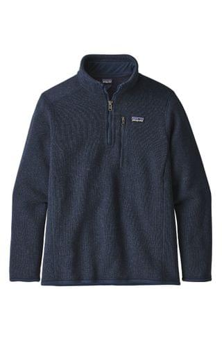 KIDS Patagonia Better Sweater Quarter Zip Pullover (Little Boy & Big Boy)