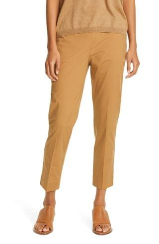 WOMEN Eileen Fisher High Waist Tapered Ankle Pants