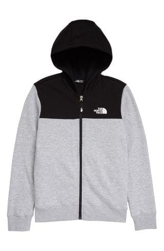 KIDS The North Face Back to School Full Zip Hoodie (Big Boy)