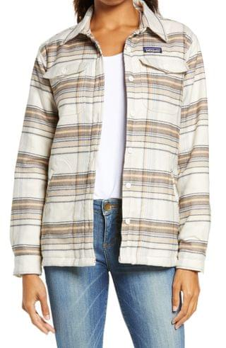 WOMEN Patagonia Fjord Flannel Shirt Jacket