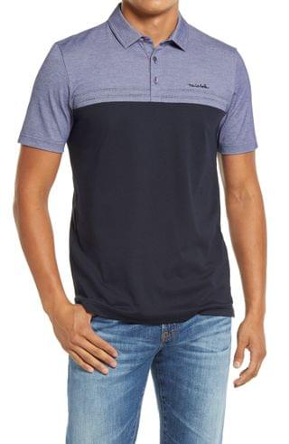 MEN TravisMathew Old Fashioned Colorblock Piqu Polo