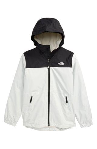 KIDS The North Face Warm Storm Waterproof Hooded Jacket (Big Boy)