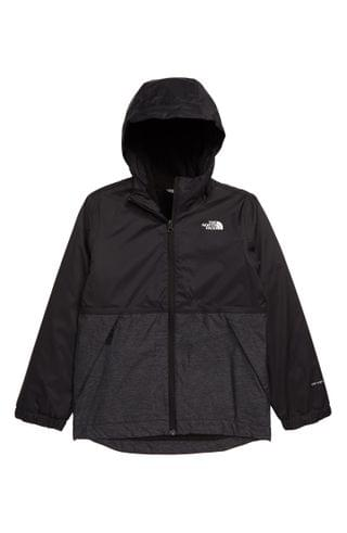 KIDS The North Face Warm Storm Hooded Waterproof Jacket (Big Boy)
