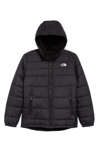 KIDS The North Face Mount Chimborazo Repellent Water Resistant Hooded Jacket (Big Boy)