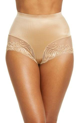WOMEN Natori Feathers Everyday Control Top Shaping Briefs