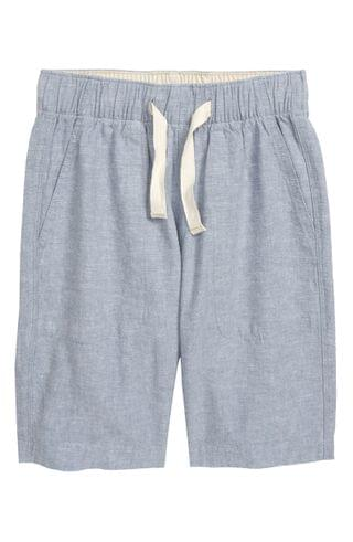 KIDS crewcuts by J.Crew Linen & Cotton Pull-On Shorts (Toddler Boys, Little Boys & Big Boys)