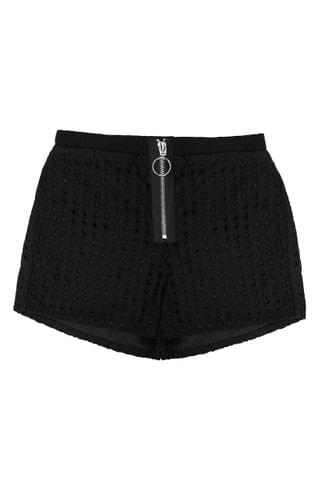 KIDSS MIA New York Embroidered Shorts (Big Girl)