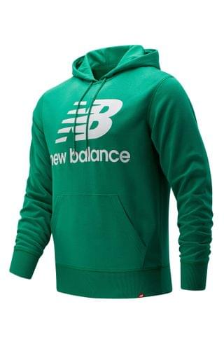 MEN New Balance Essentials Logo Graphic Hoodie