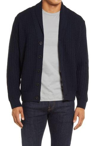 MEN Brax James Shawl Collar Cardigan