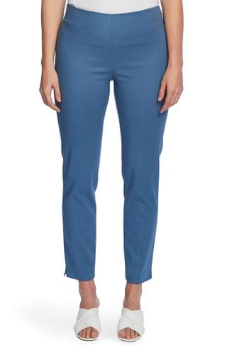 WOMEN Vince Camuto Ankle Vent Stretch Cotton Blend Trousers