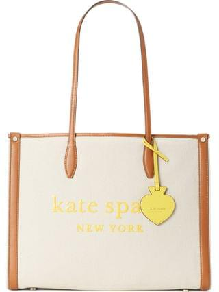 WOMEN kate spade new york large market canvas tote