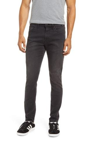 MEN Mavi Jeans James Skinny Fit Jeans (Smoke Supermove)