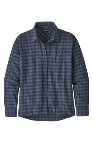 WOMEN Patagonia Driving Song Flannel Shirt