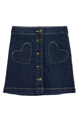 KIDSS Tucker + Tate Eyelet Pocket Denim Love Skirt (Toddler, Little Girl & Big Girl)