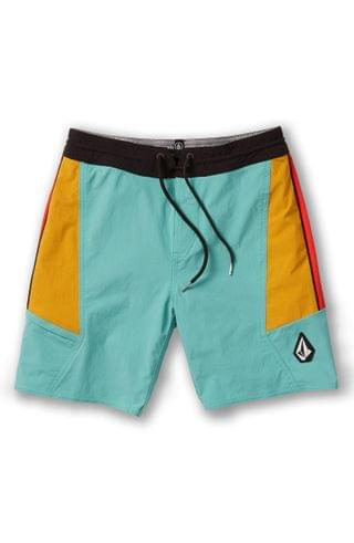 KIDS Volcom Stained Glass Board Shorts (Big Boy)