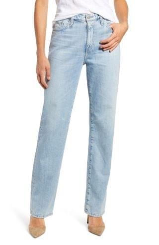 WOMEN AG Alexxis High Waist Straight Leg Jeans (25 Years Directional)