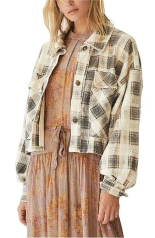 WOMEN Free People James Plaid Jacket