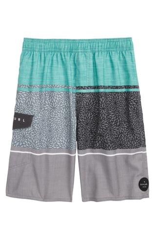 KIDS Rip Curl First Point Volley Shorts (Big Boys)