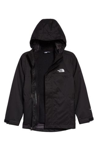 KIDS The North Face Gordon Lyons TriClimate Waterproof Hooded 3-in-1 Snowsports Jacket (Big Boy)