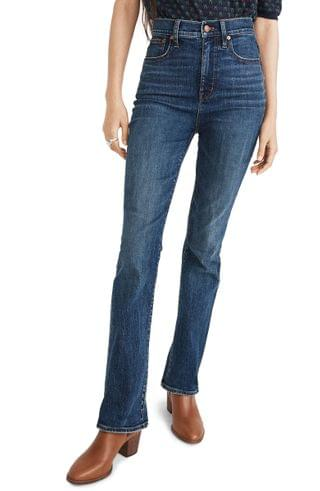 WOMEN Madewell Skinny Flare Jeans (Abney Wash)