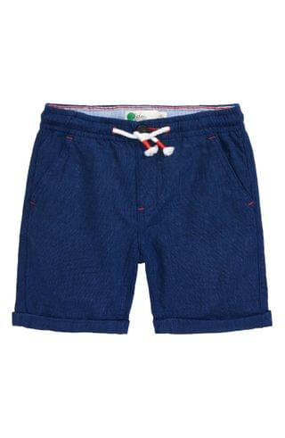 KIDS Mini Boden Roll Up Linen & Cotton Shorts (Toddler, Little Boy & Big Boy)