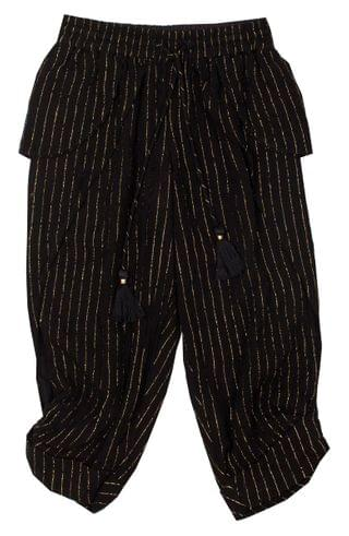 KIDSS BOWIE X JAMES Crescent Moon Kicker Metallic Stripe Pants (Toddler Girls, Little Girls & Big Girls)
