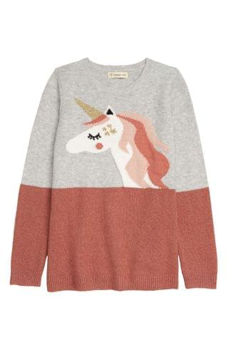KIDSS Tucker + Tate Colorblock Pop Sweater (Toddler, Little Girl & Big Girl)
