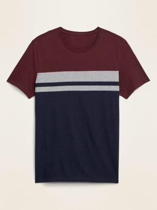 MEN Striped Soft-Washed Crew-Neck Tee for Men