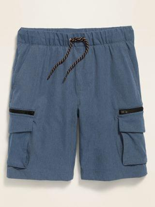KIDS Built-In Flex Dry-Quick Jogger Cargo Shorts for Boys