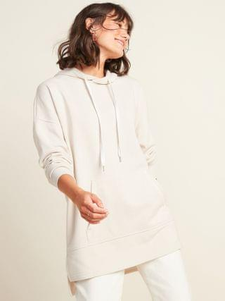 WOMEN Oversized French Terry Pullover Hoodie for Women