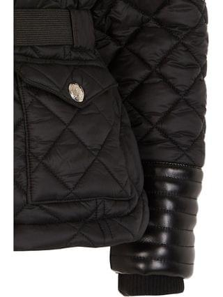 KIDS Girls black belted puffer coat
