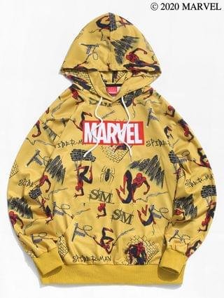 MEN Marvel Spider-Man Comic Graphic Casual Hoodie