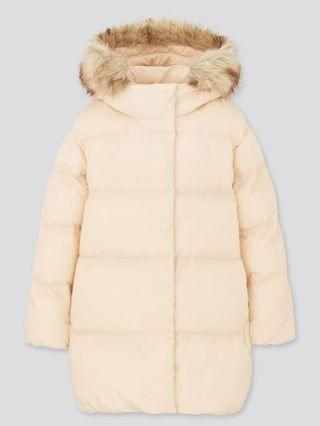 KIDS girls warm padded coat