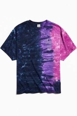 MEN FILA Voyager Collection Galaxy Tie-Dye Tee