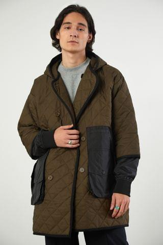 MEN LYpH Mad Quilted Coat