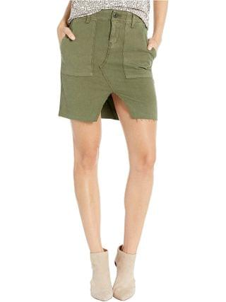 WOMEN Hudson Jeans - Lulu Military Cargo Skirt in Washed Troop