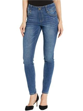 WOMEN Liverpool - Gia Glider/Revolutionary New Skinny Pull-On in Vintage Denim in Cartersville