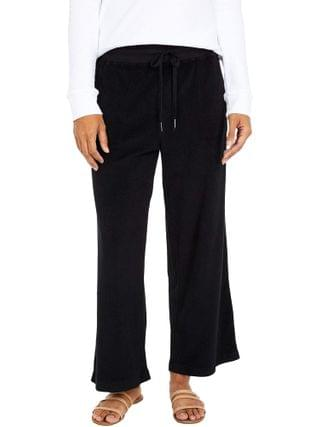 WOMEN Mod-o-doc - Terrycloth Cropped Pull-On Pants