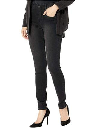 WOMEN Liverpool - Gia Glider/Revolutionary New Skinny Pull-On in Stretch Black Denim in Night Jet