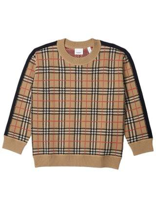 KIDS Burberry Kids - Donnie Merino Knitwear (Little Kids/Big Kids)