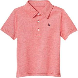 KIDS Janie and Jack - Short Sleeve Polo (Toddler/Little Kids/Big Kids)