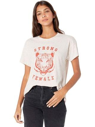 "WOMEN good hYOUman - Brice ""Strong Female"" Tee"