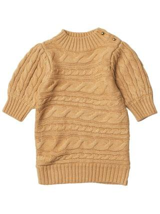 KIDS Janie and Jack - Chunky Cable Knit Sweater (Toddler/Little Kids/Big Kids)