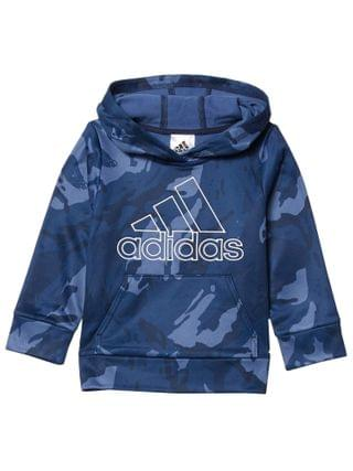 KIDS adidas Kids - Core Camo Hooded Pullover (Toddler/Little Kids)